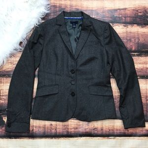 J. Crew Wool Women's Blazer 3 Button Jacket